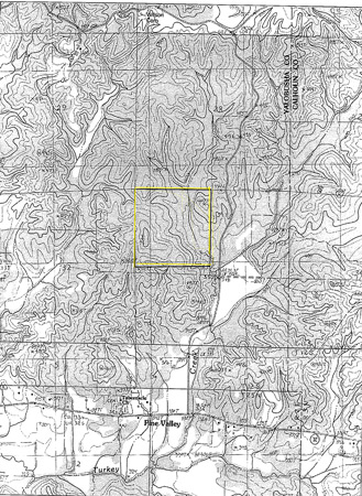 Watervalley 160 Topo Map